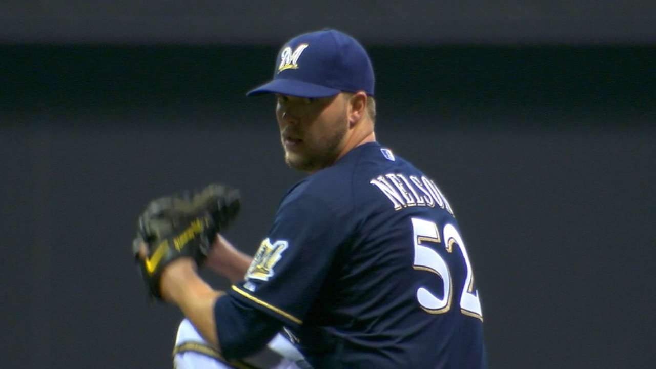 Nelson's scoreless outing