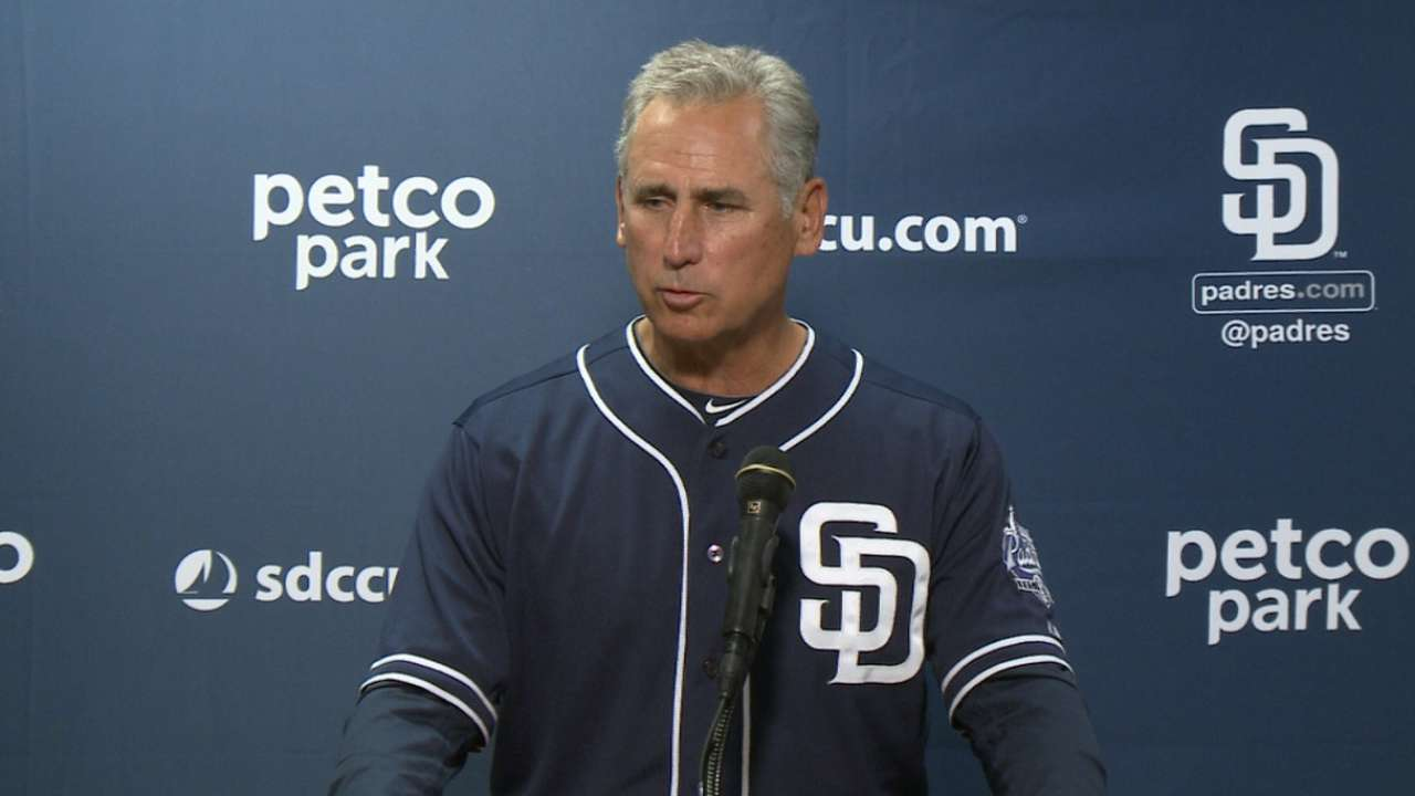 Black on Padres' win over Giants