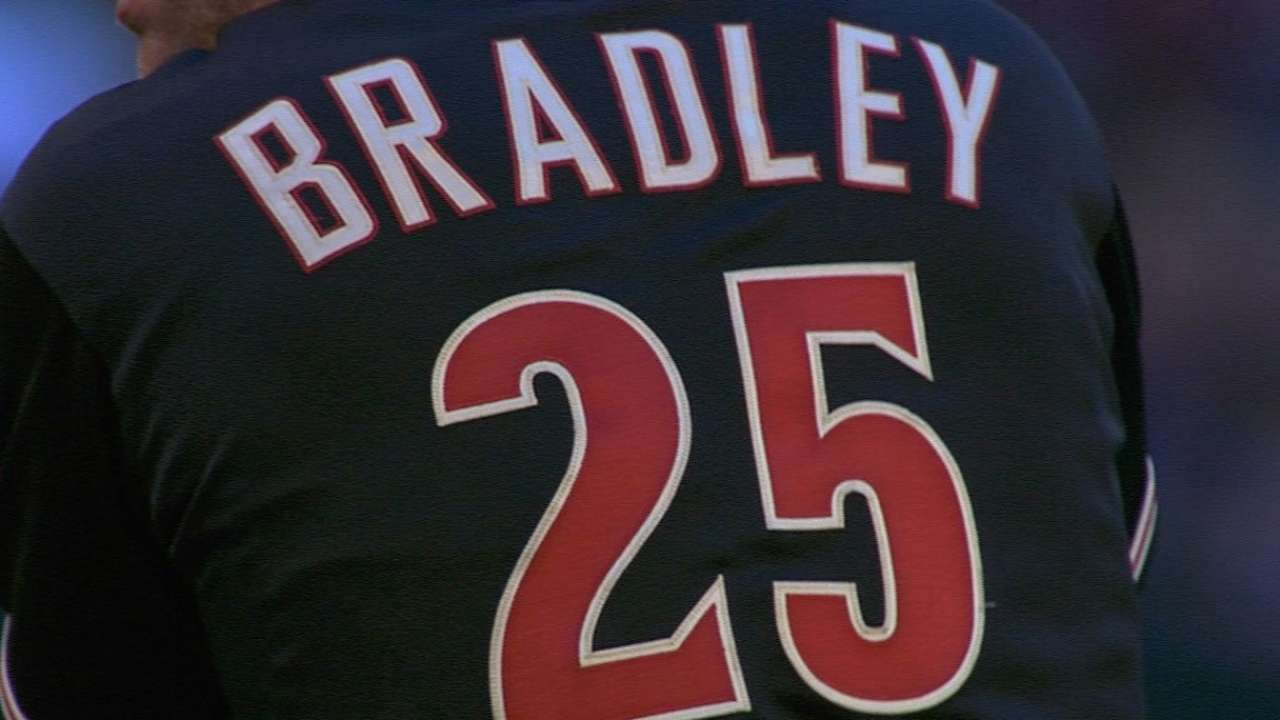 Bradley savors night of firsts, including standing ovation