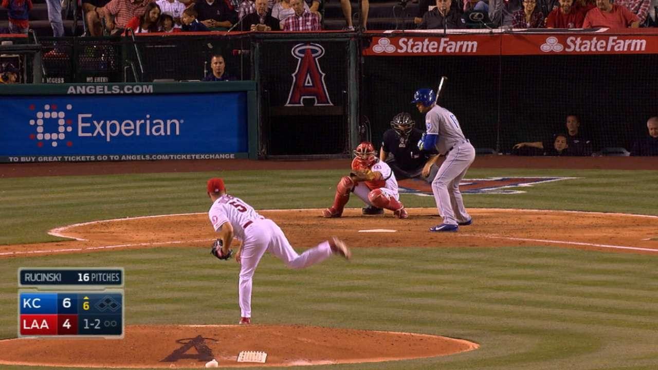 Rucinski earns first MLB start against Rangers
