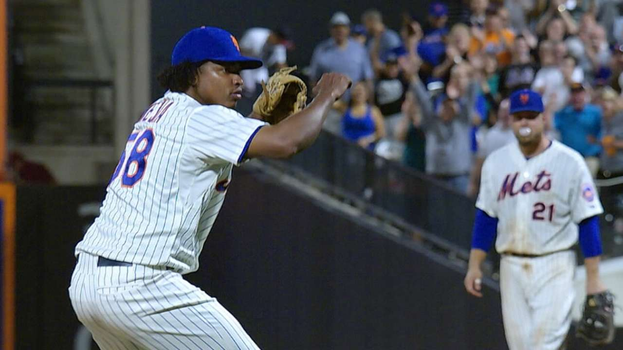 Familia emotional after learning of Mejia's suspension