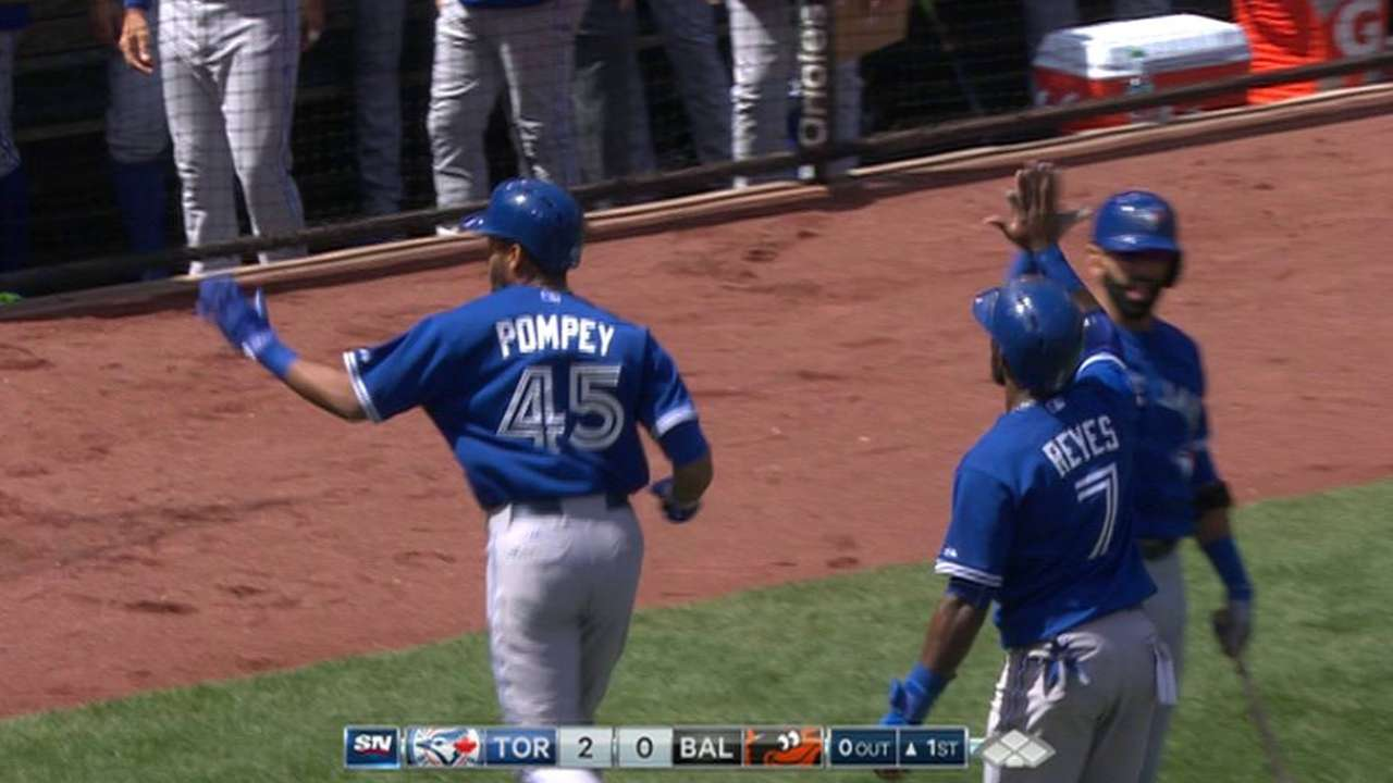 Pompey's two-run homer