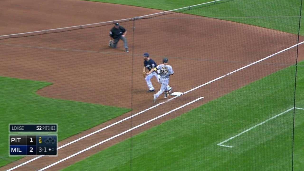 Ramirez's play to his left