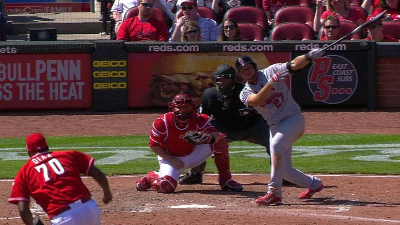 Peralta's two-run home run