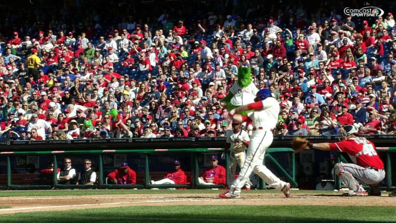 Ruf's pinch blast could lead to more playing time