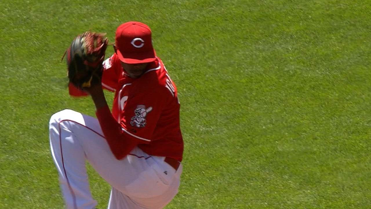 With Bailey's imminent return, Reds option Iglesias