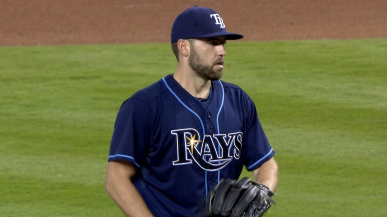 Karns heeds Cash's words, delivers strong outing vs. Marlins