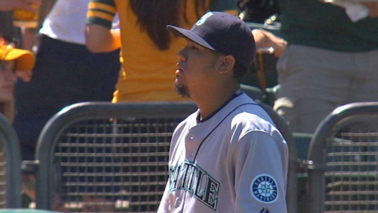 Felix's shortened outing