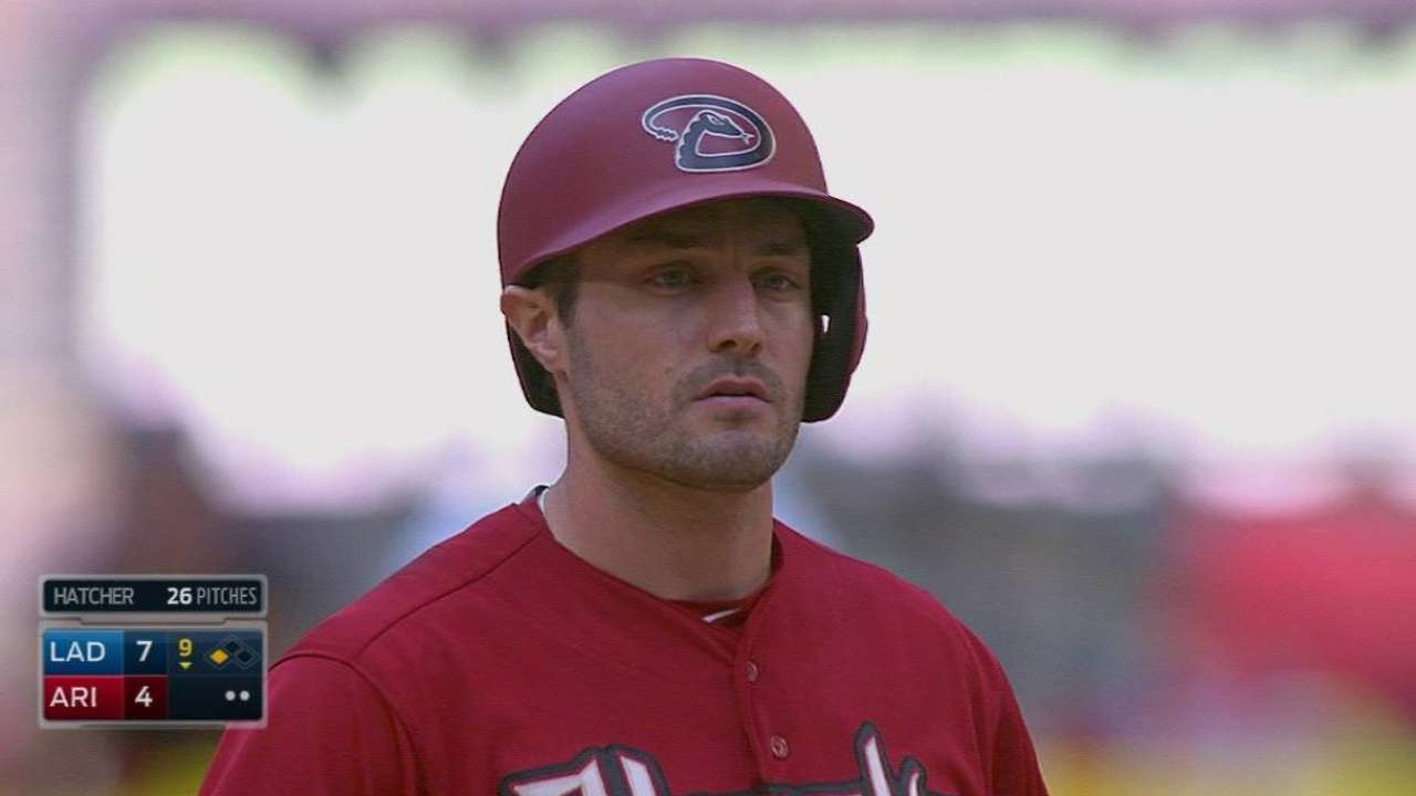 Hale proud D-backs battled in ninth inning