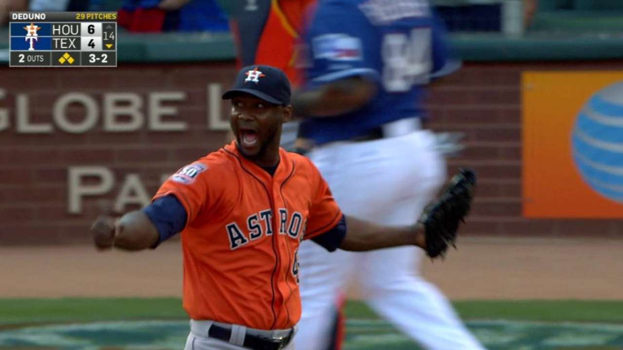 Astros' bullpen shows out in full force in extra-inning win