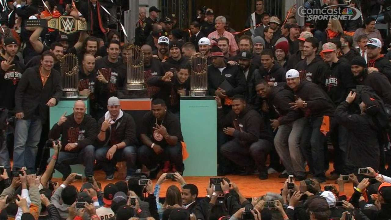 What's Next: Giants' title party highlights home openers