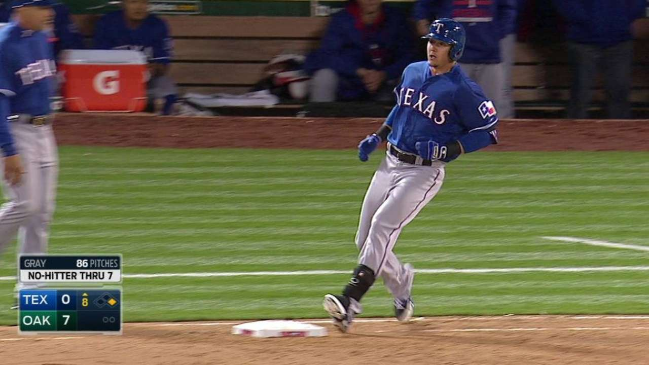 Rua activated, Claudio called up by Rangers