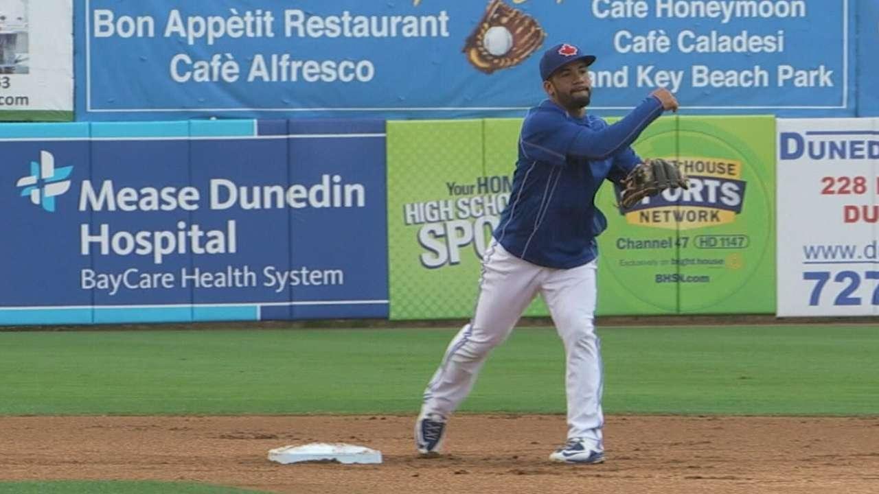 Travis brings disciplined bat, leadership to Blue Jays