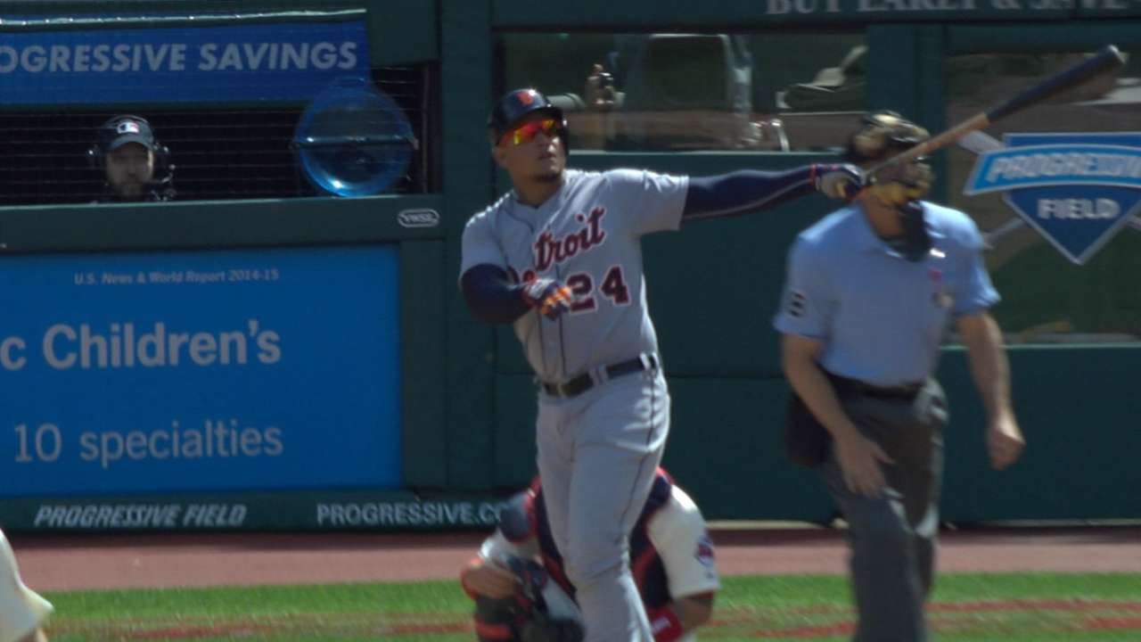 Sizzling start nets Miggy AL Player of the Week nod