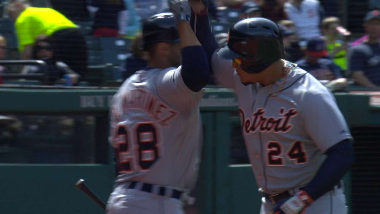 Miggy's three-game stretch best by a Tiger since '52
