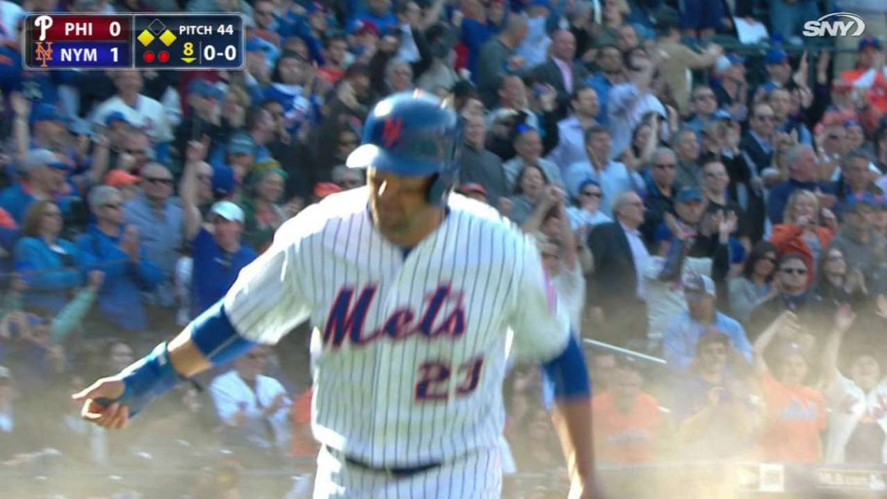 d'Arnaud's sacrifice fly