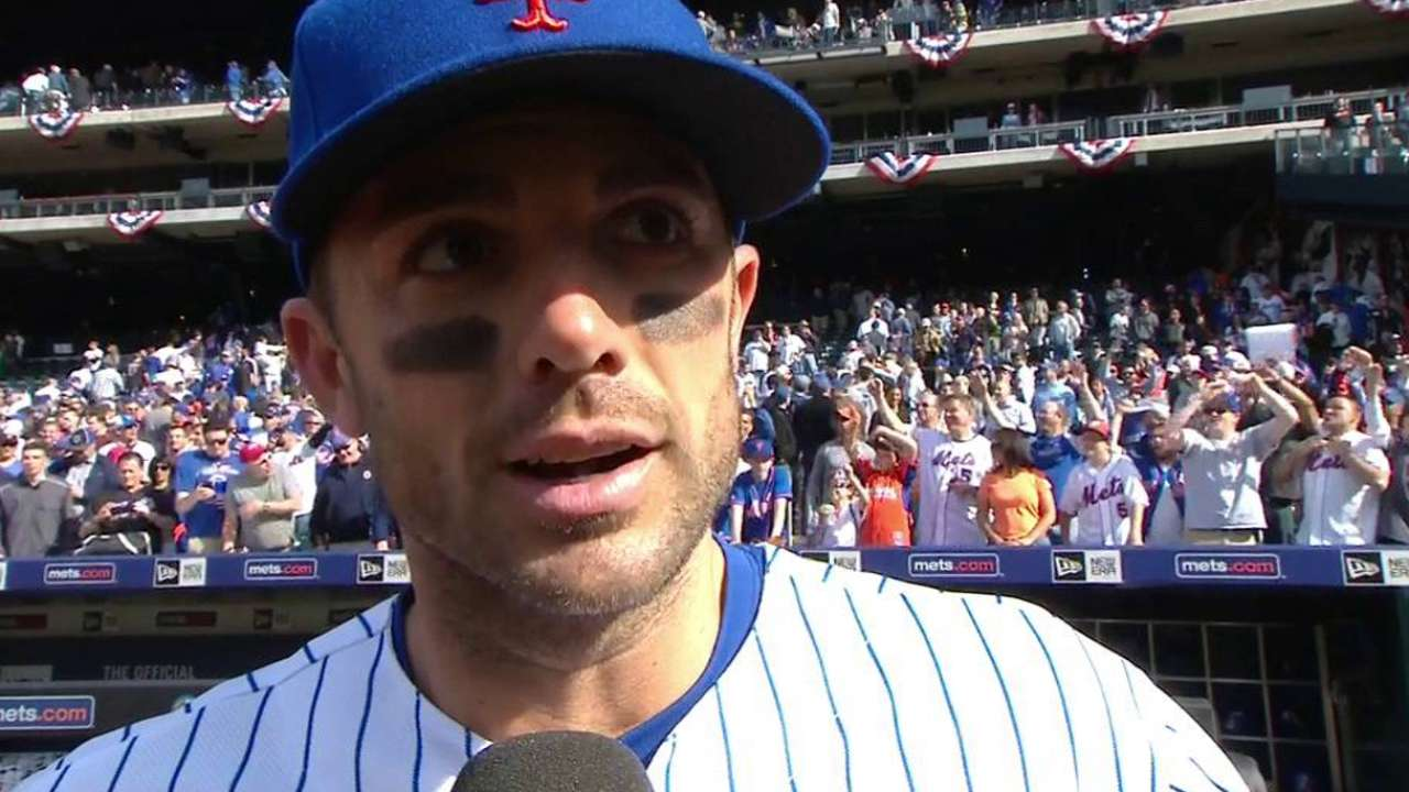 Wright on deGrom, win