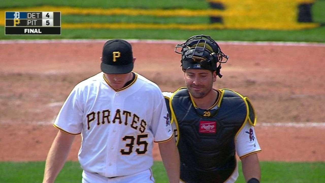 Pirates monitoring Melancon's decreased velocity