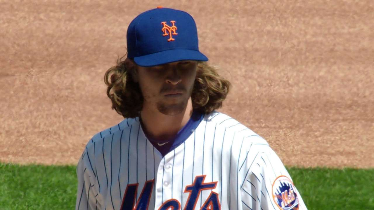 deGrom's scoreless start