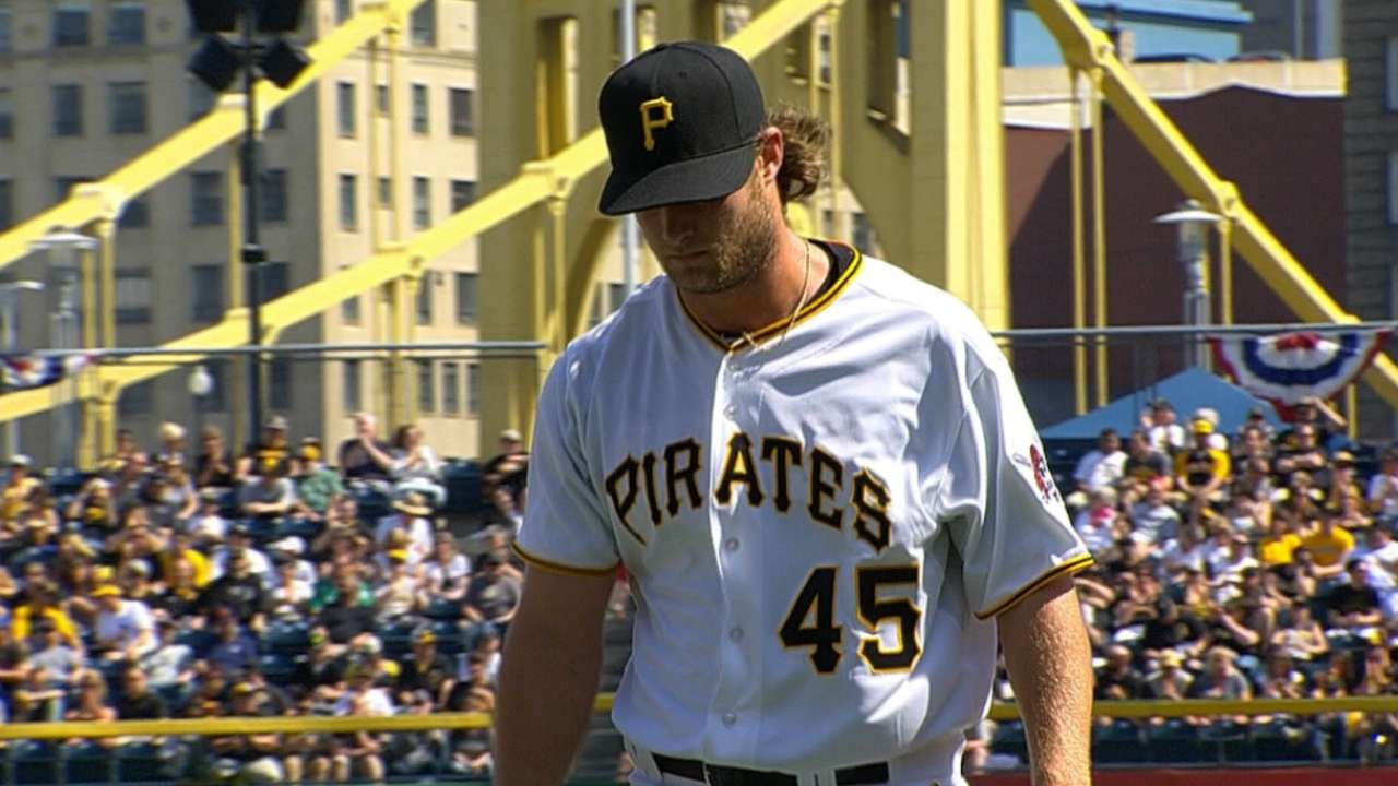 Cole crafts masterful outing against red-hot Tigers