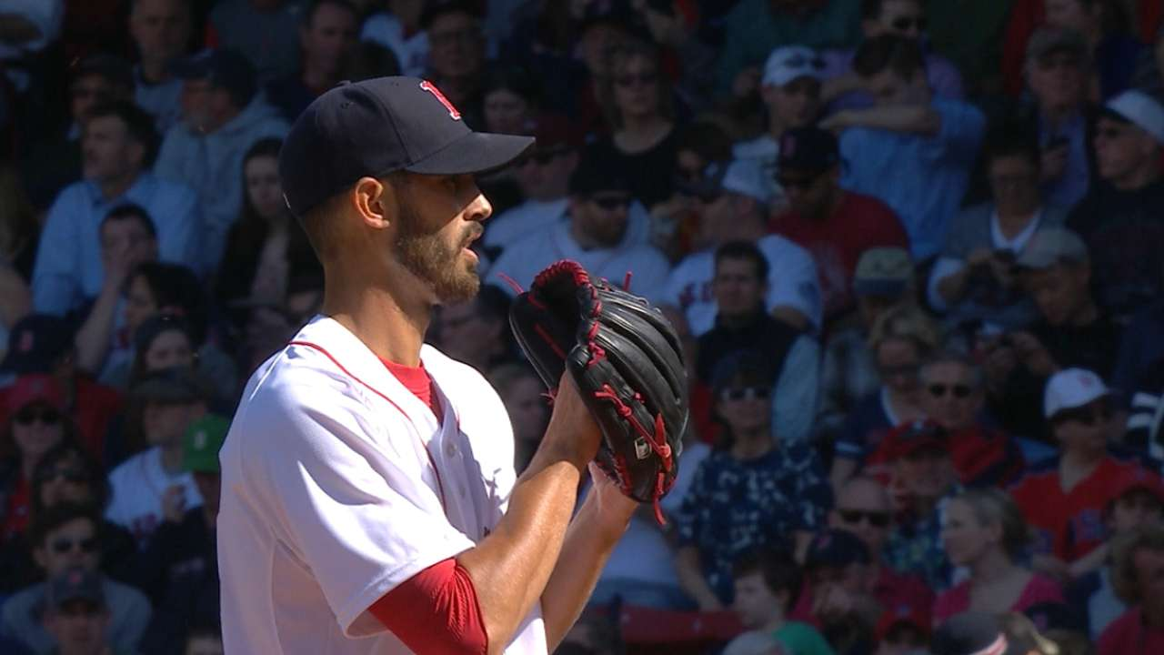 Staked to early lead, Porcello savors first Sox win