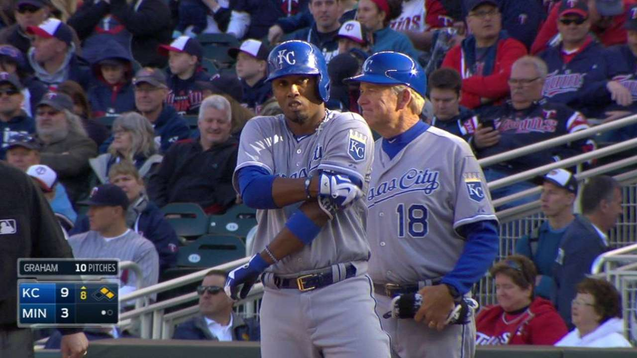 Royals improve to 7-0 with rout of Twins