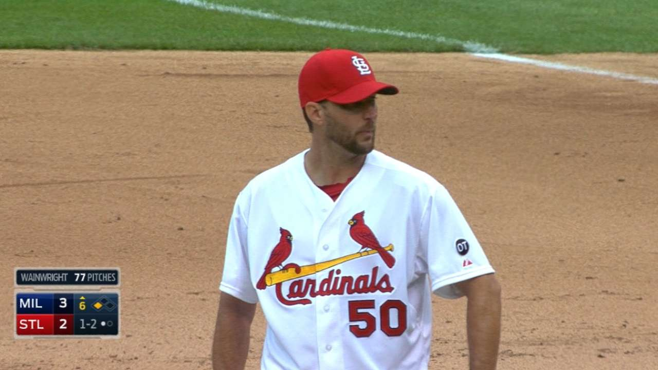 Wainwright goes seven innings