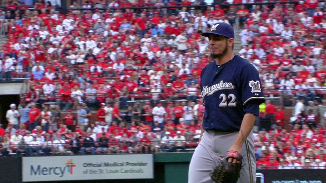 Garza escapes trouble, finds a 'W' in St. Louis