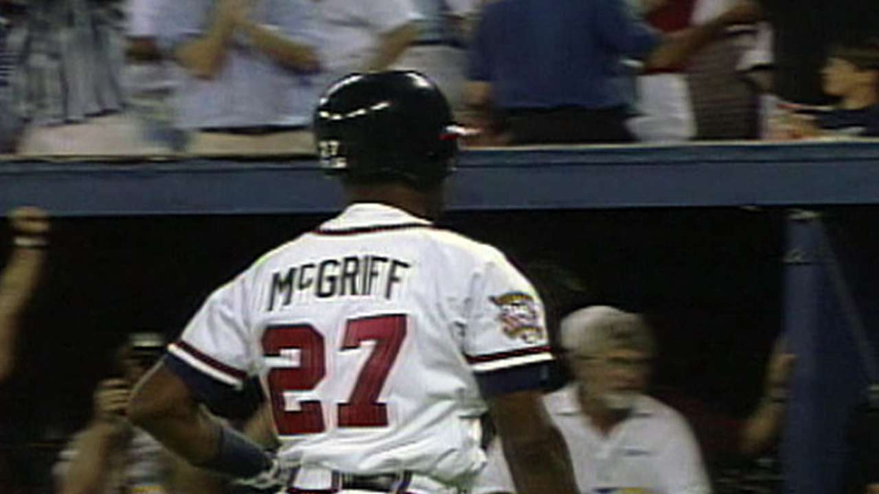 McGriff's pinch-hit home run