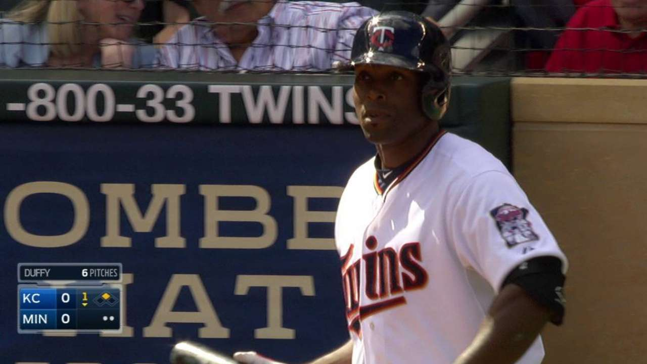 For first time, Torii calls Target Field home