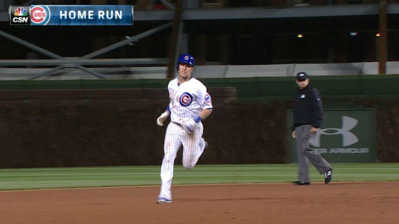 Coghlan doesn't back away from hot corner