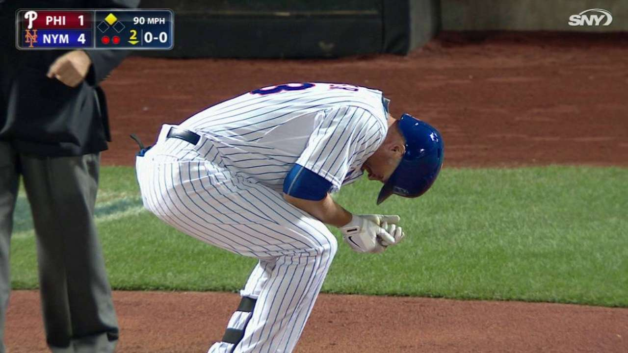 After hit-by-pitch, Cuddyer sore but fine