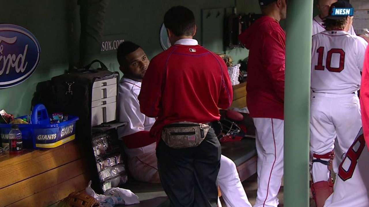 Sandoval's injury