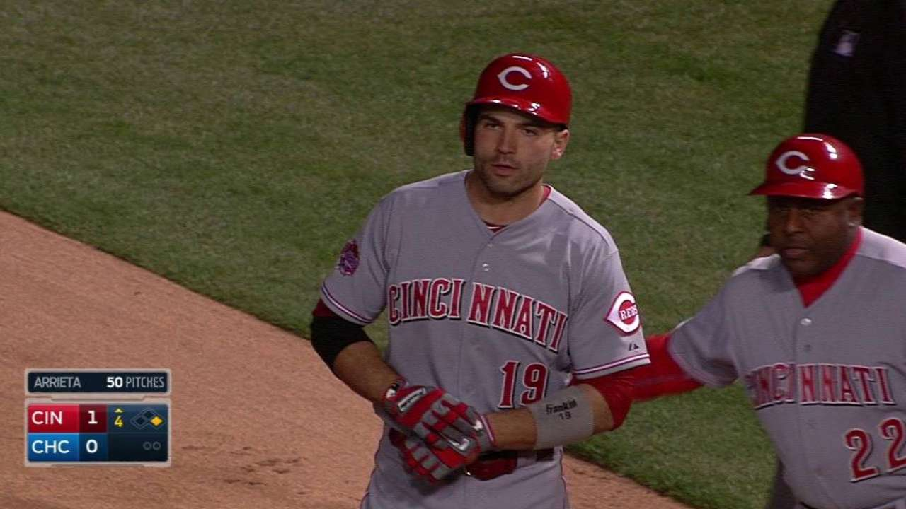 Votto showing early signs of former self