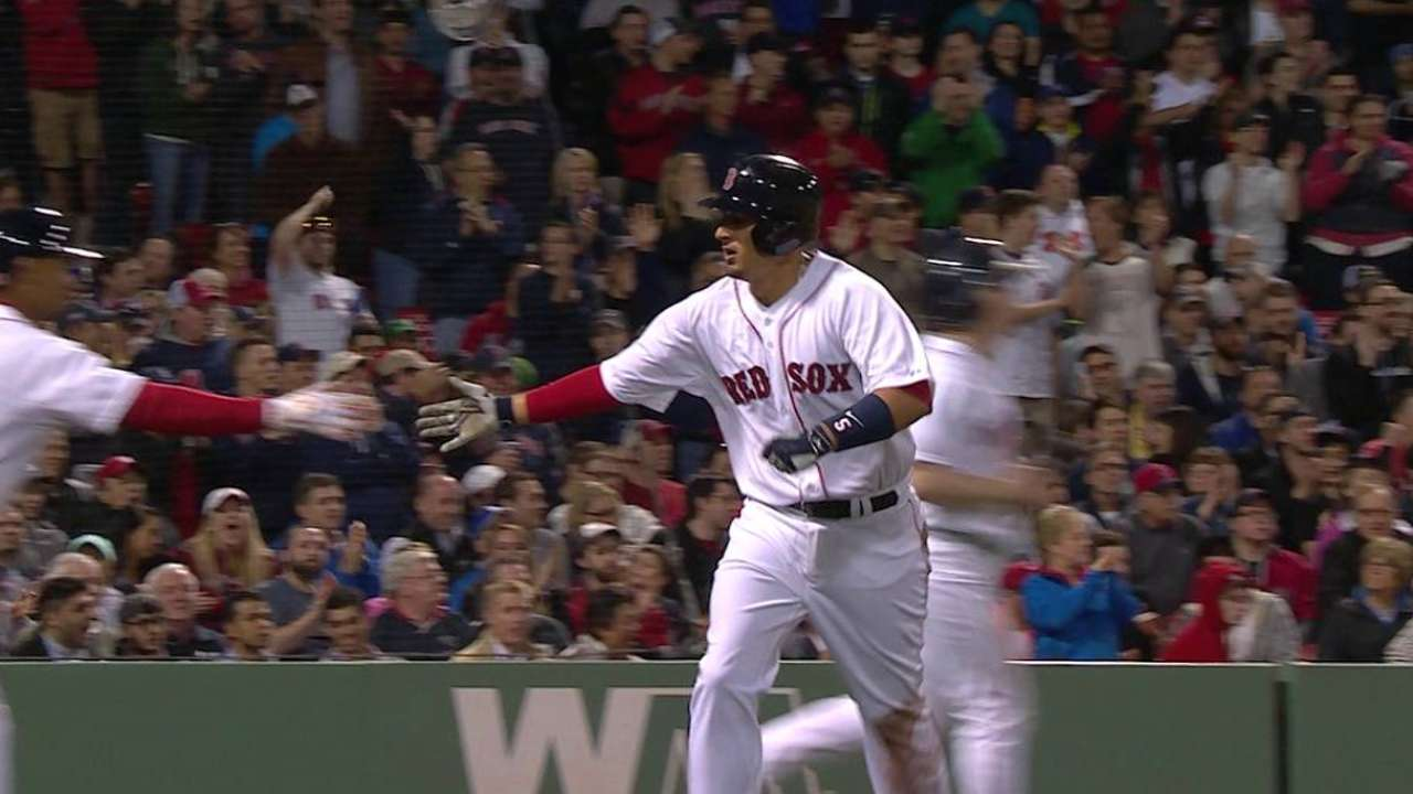 Without benefit of hit in seventh, Sox beat Nats