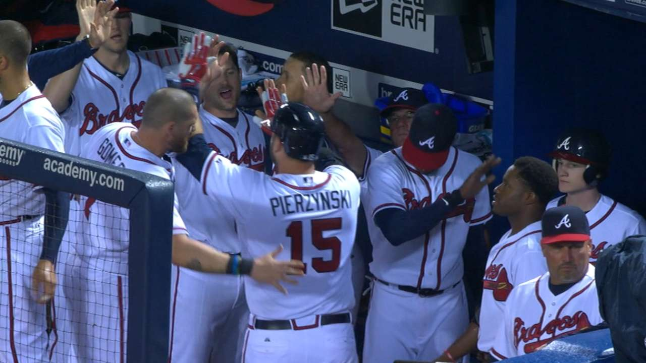 Braves hit back-to-back homers