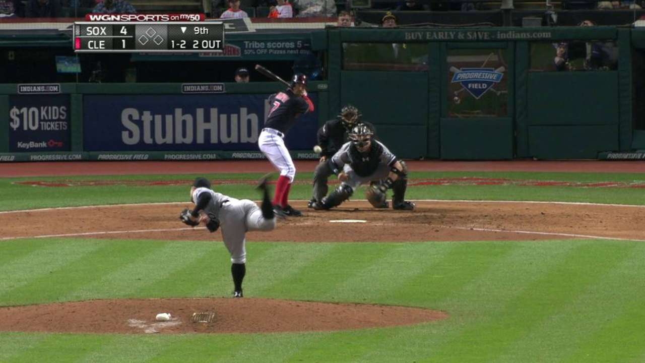 White Sox new 'pen trio shuts down Indians