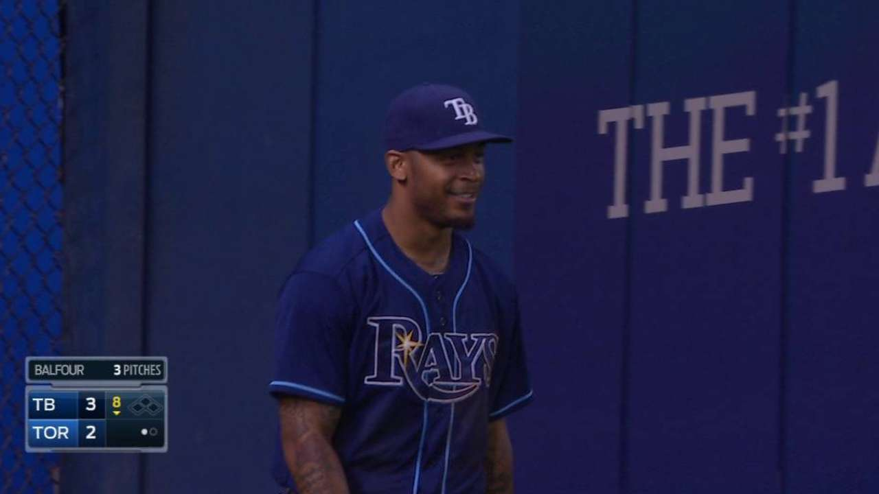 Rays hope to have Jennings back for weekend set vs. O's