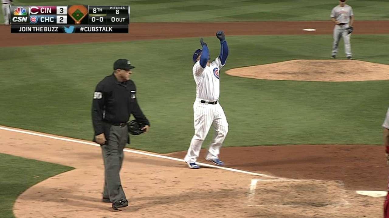 Castillo's two-run shot