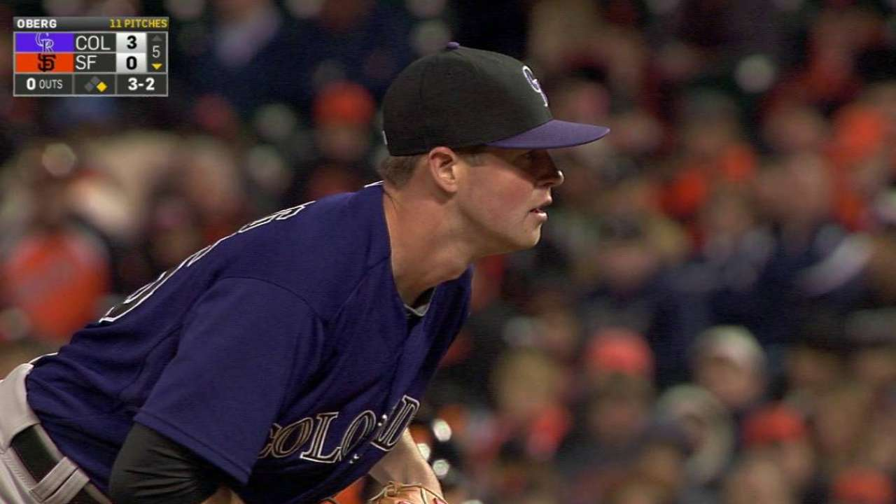 Rockies bullpen pitches in for victory over Giants