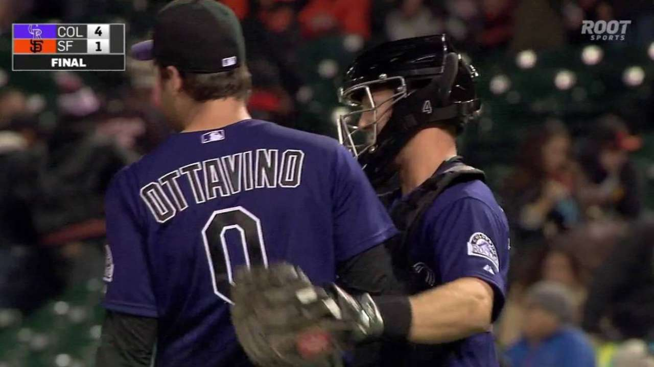 'New wrinkle' gives Ottavino arsenal to be Rox's closer