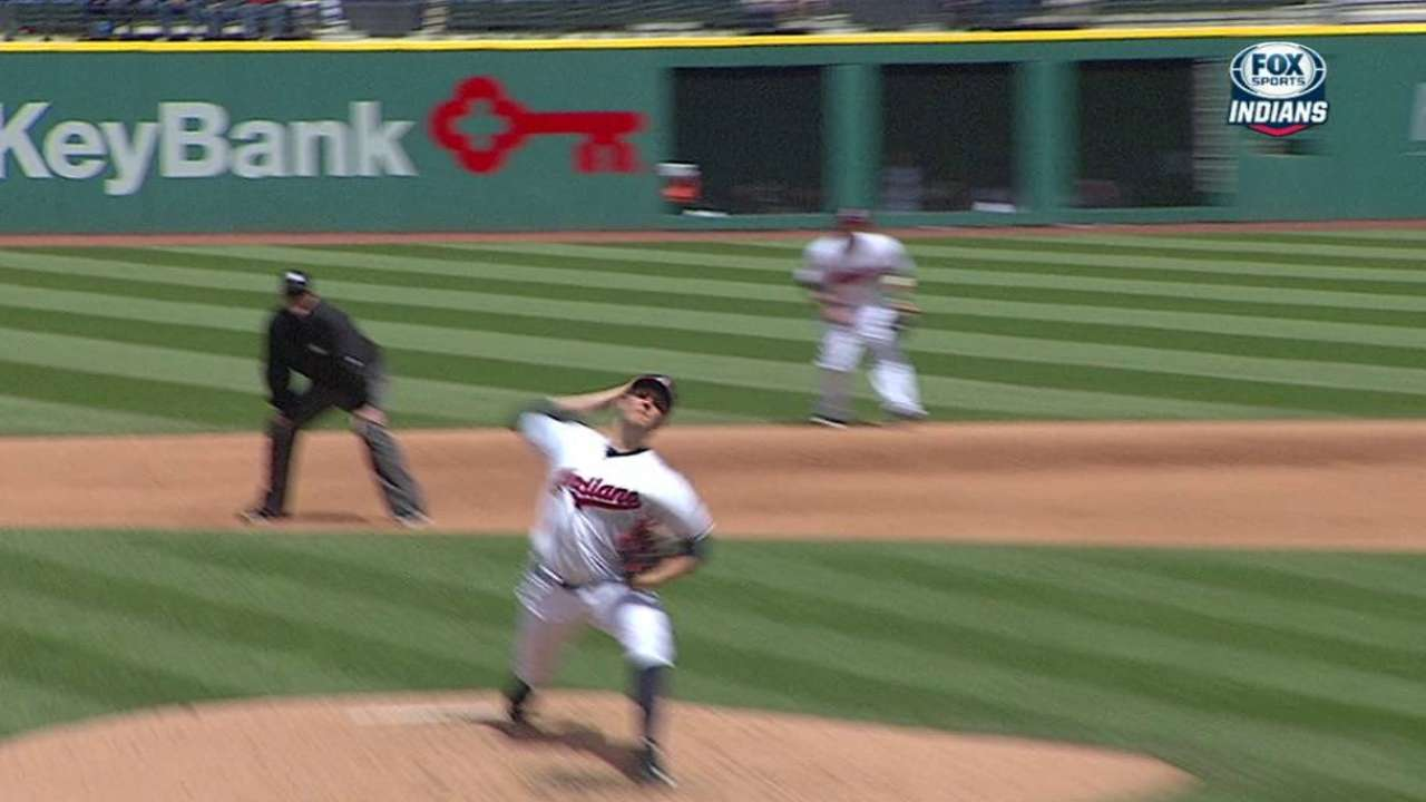 Bauer gets out of the jam
