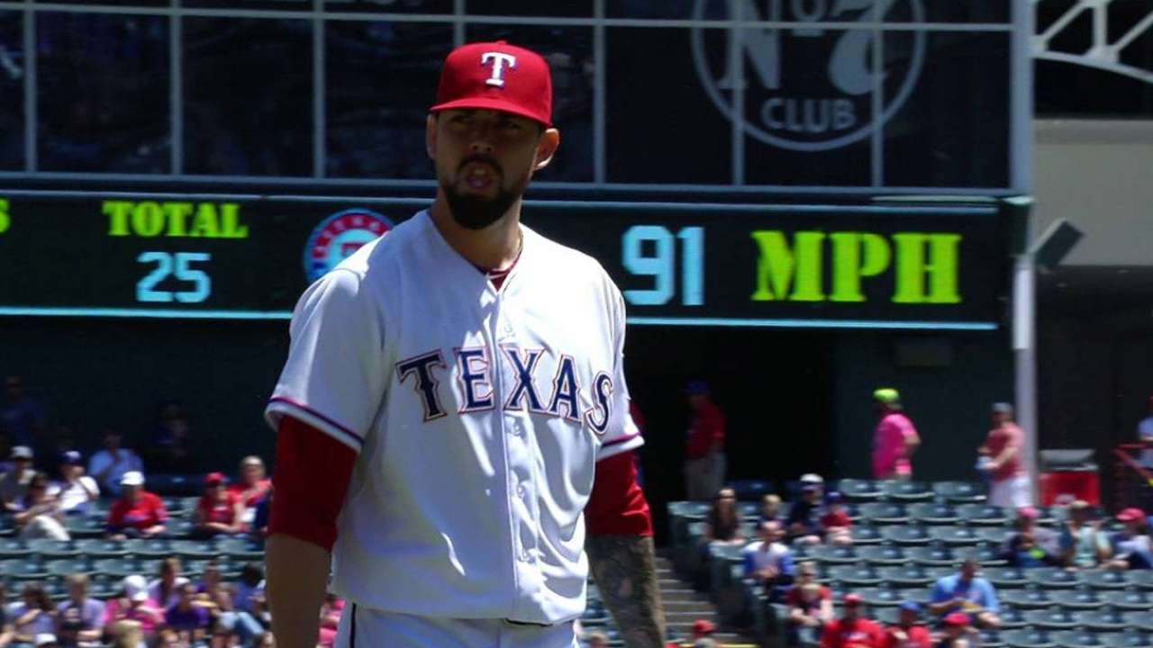 Ranaudo's stay with Rangers a short one