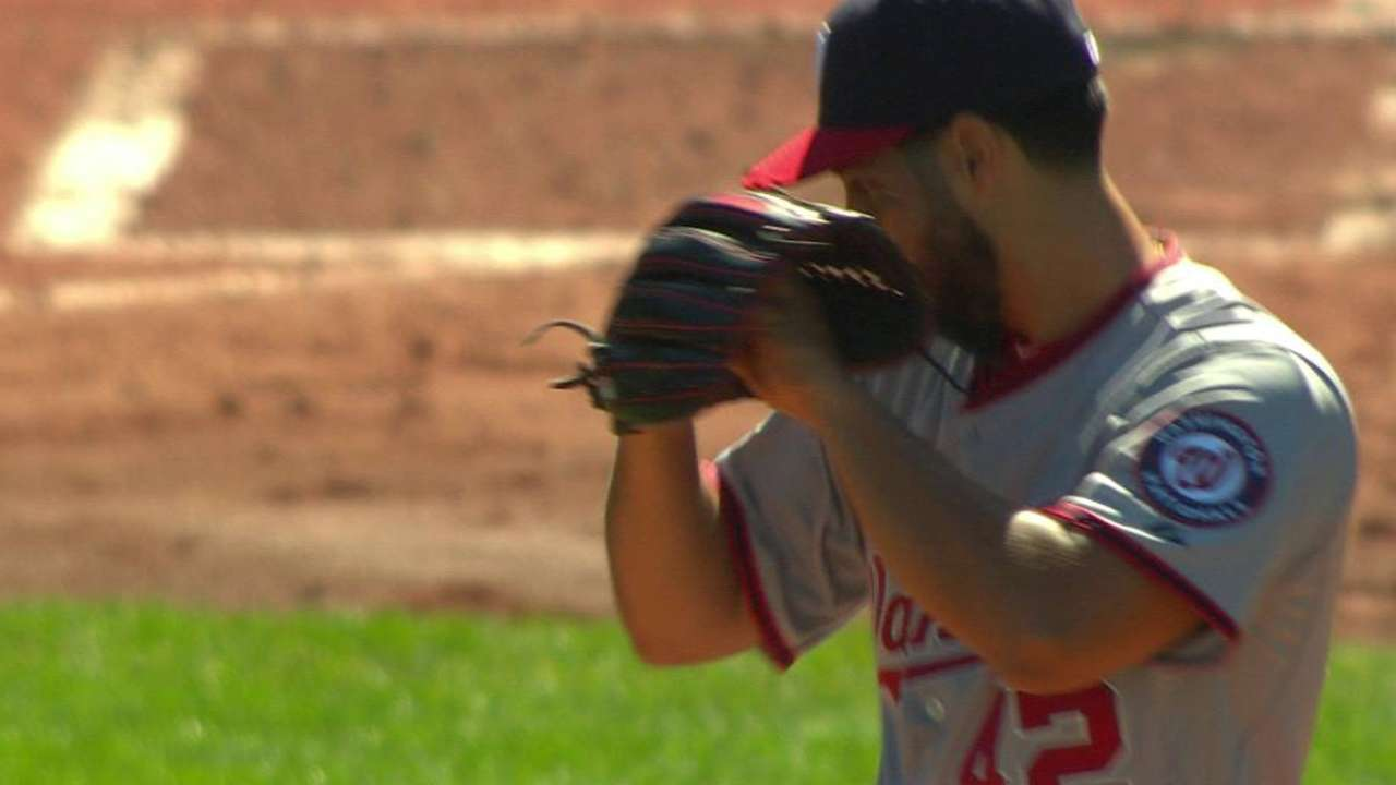 Gio strikes out Holt