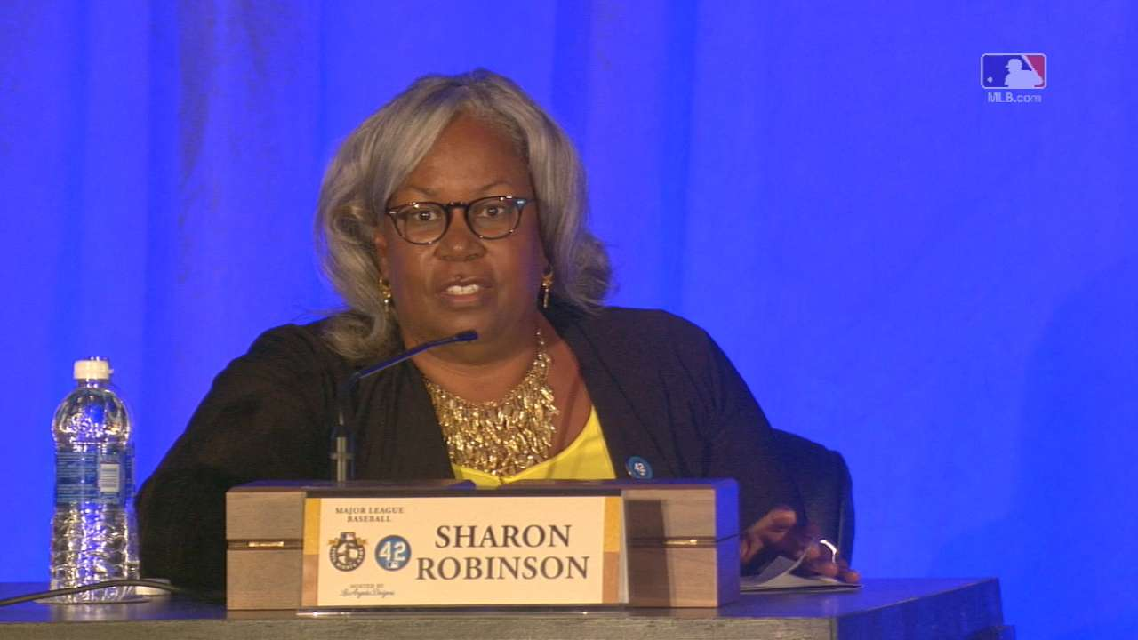 Sharon Robinson on Foundation