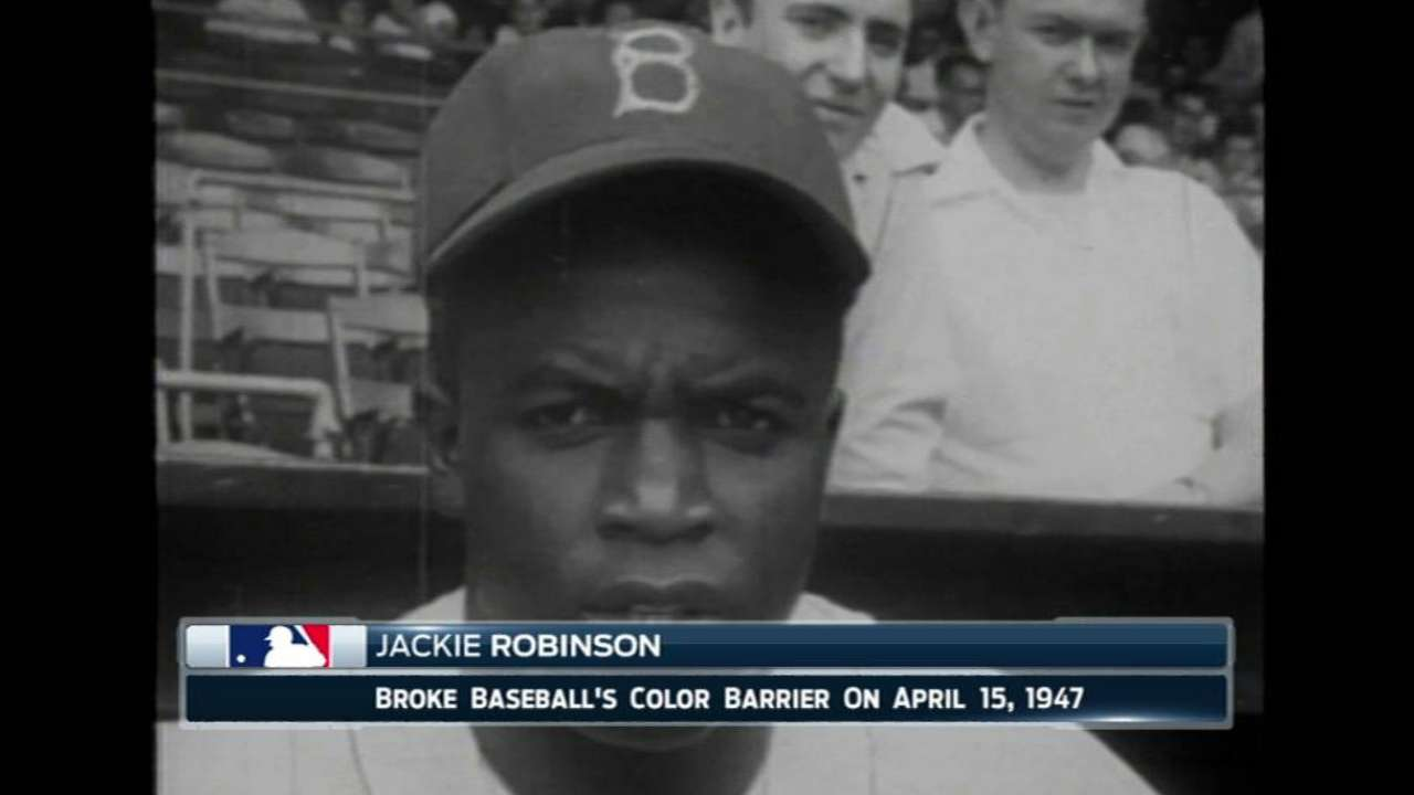 Cain, Royals wear Jackie's No. 42 with pride