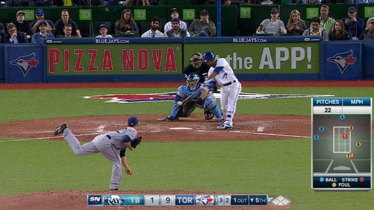 Travis' solo home run