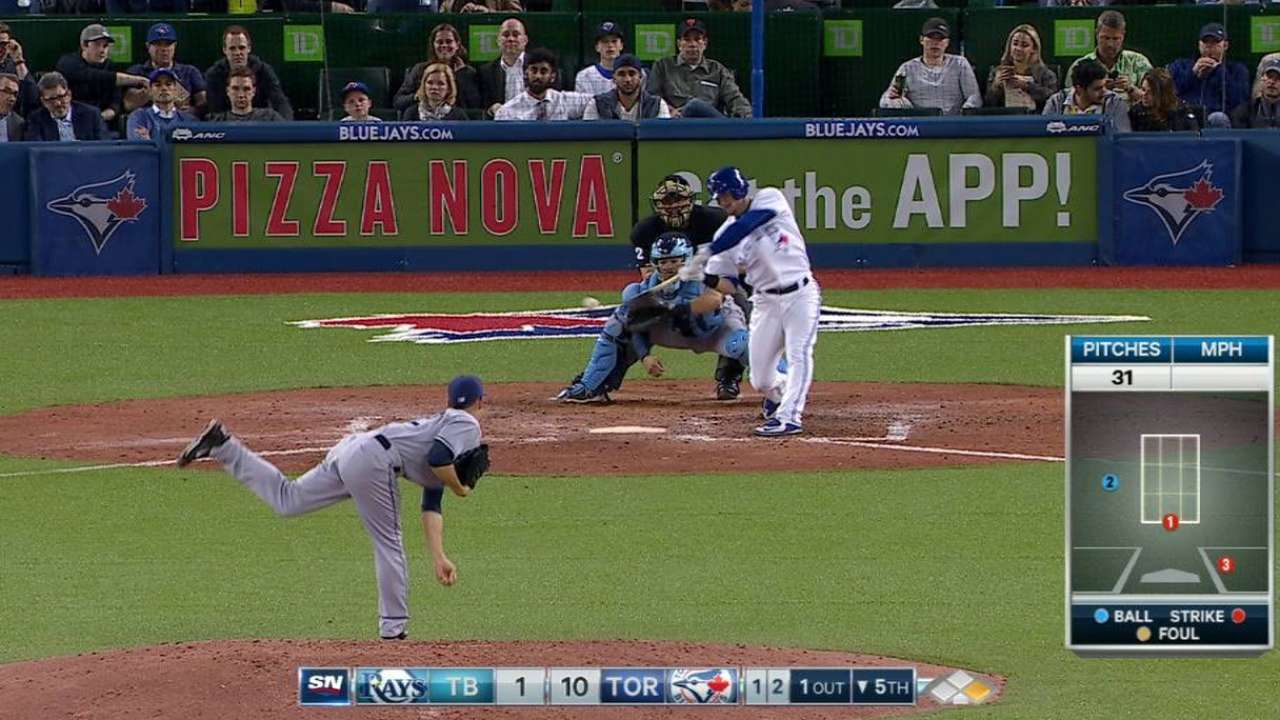 Donaldson effective from No. 2 spot