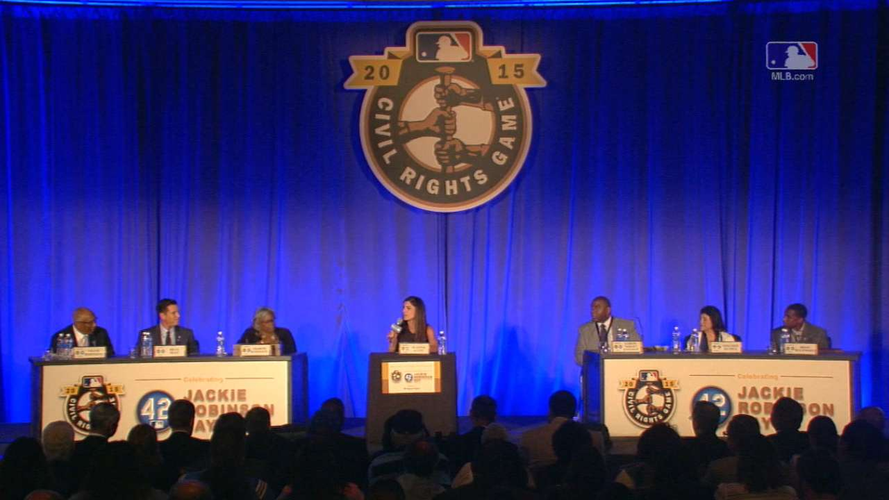 MLB hosts roundtable on sports and civil rights