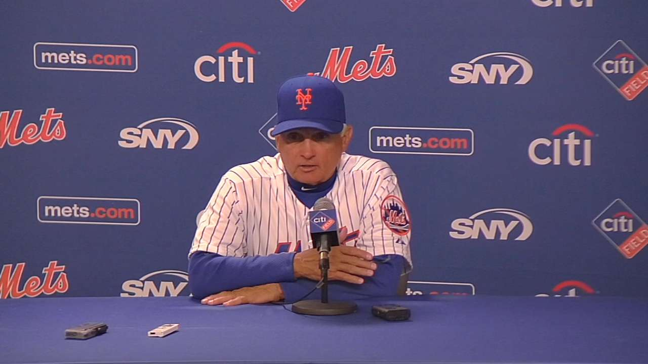 Mets gain confidence in first game without Wright